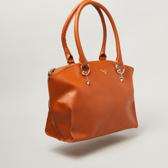 Baggit Dome Satchel with Curved Handles