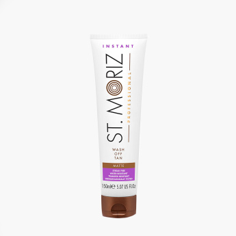 St. Moriz Wash Off Matte Self-Tanning Lotion - 150 ml