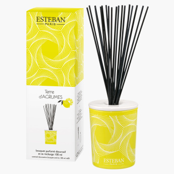 Esteban Terre d'Agrumes Reed Diffuser with Reeds - 100 ml