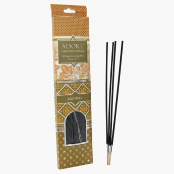 Elite d'Art Ego Gold Incense Stick - Set of 60