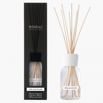 Millefiori White Mint and Tonka Reed Diffuser -  500 ml