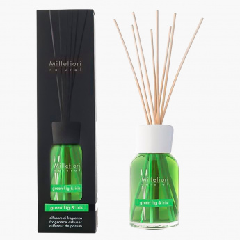Millefiori Natural Green Fig and Iris Reed Diffuser - 100 ml