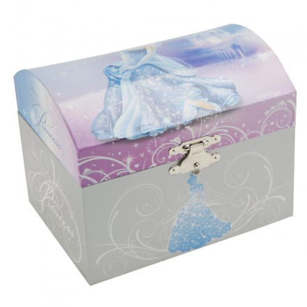 Disney Cinderella Musical Jewellery Box Boxes Baskets Storage
